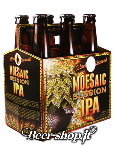 Cestino Black Diamond Moesaic Session IPA 6*35,5cl