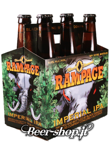 Cestino Black Diamond Rampage Imperial IPA 6*35,5cl