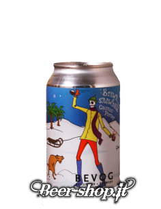Bevog Brown Snowball Coconut Porter Lattina 33cl