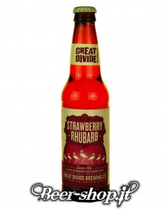 Great Divide Strawberry Rhubarb 35,5 cl