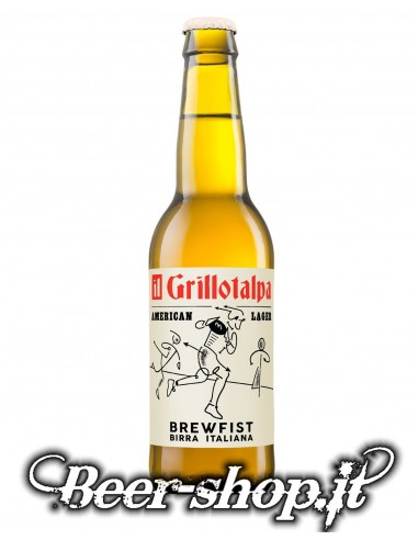 Brewfist Il Grillotalpa Lager 33cl