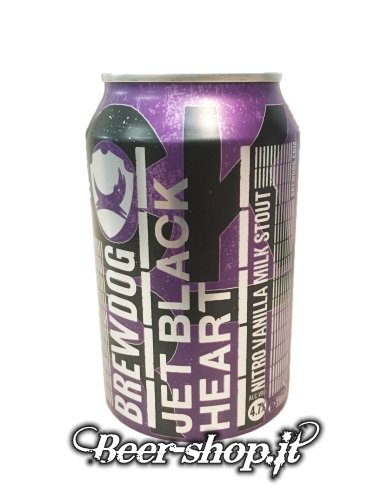 Brewdog Jet Black Heart Stout Lattina 33cl