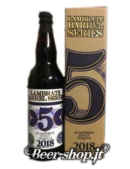 Lambrate n5 Imperial Stout Tequila 2018, 66cl